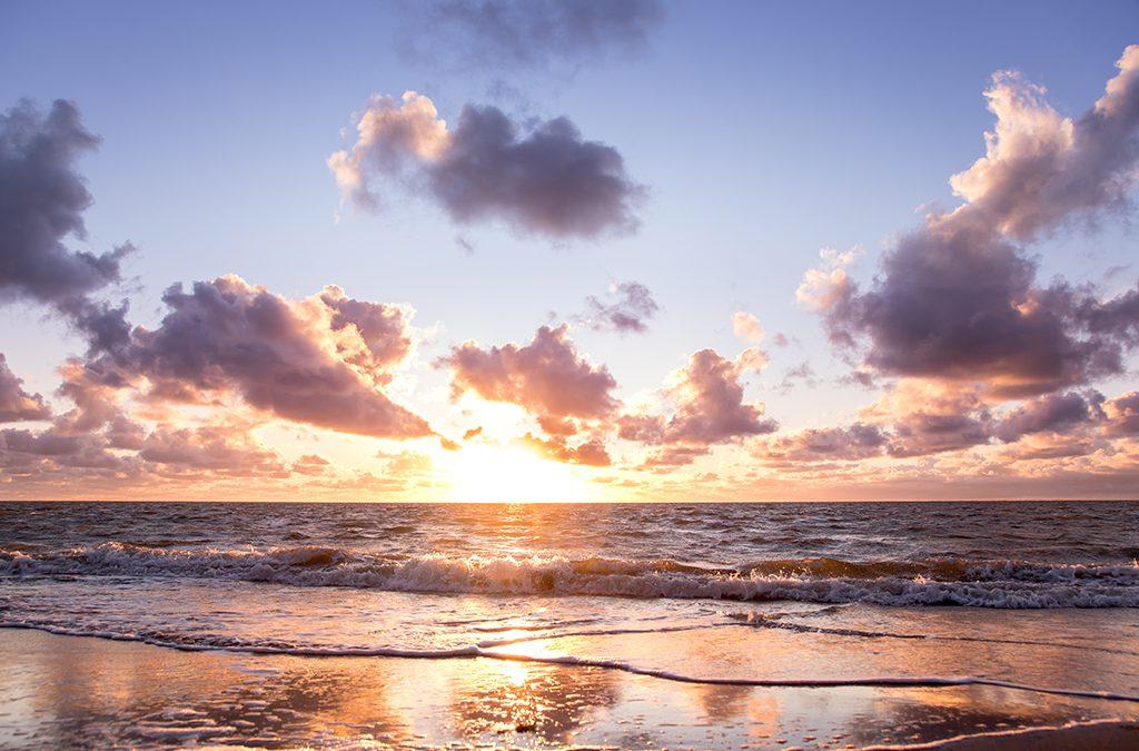 Fotografietips voor zonsondergang of zonsopgang.